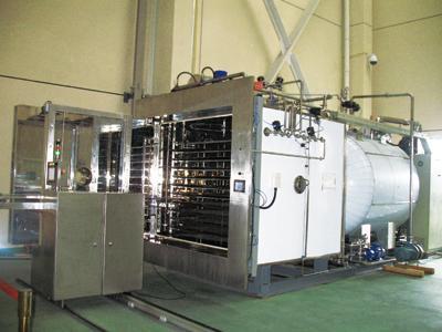 东富龙10平方冻干机